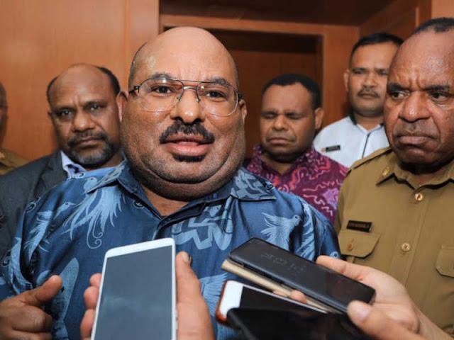 Lukas Enembe Pastikan Hanya 43 Cabor di PON XX 2020 Papua