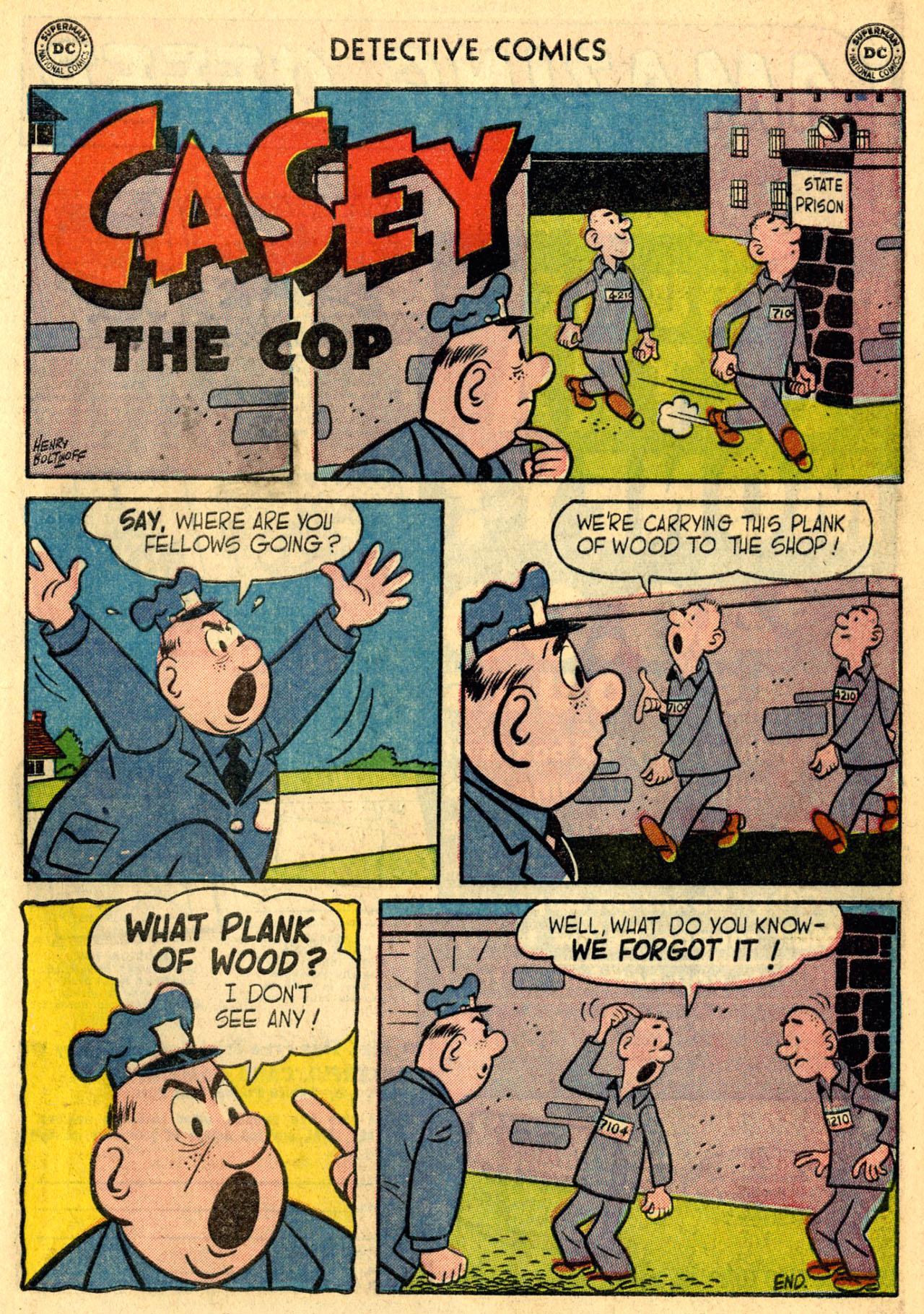 Read online Detective Comics (1937) comic -  Issue #216 - 33
