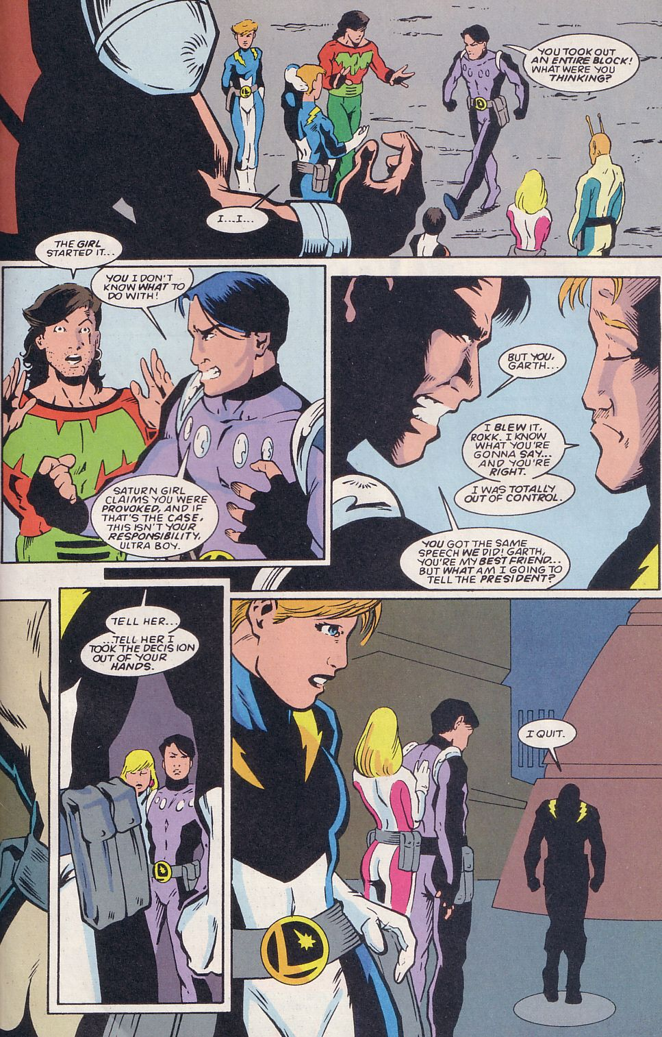 Legion of Super-Heroes (1989) 64 Page 22
