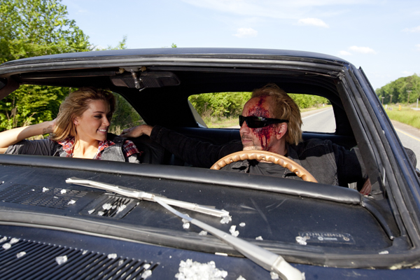 Nicolas Cage y Amber Heard en Furia Ciega