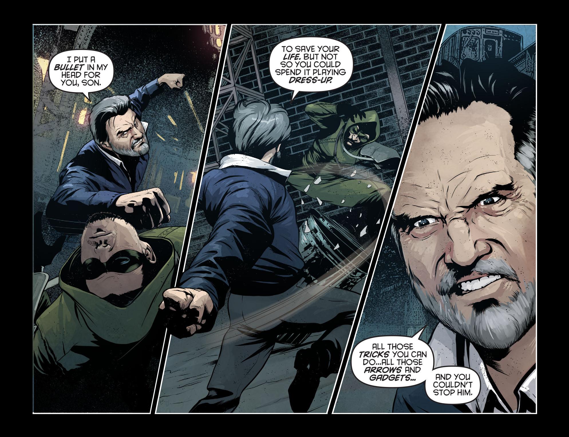 Read online Arrow: Season 2.5 [I] comic -  Issue #7 - 14