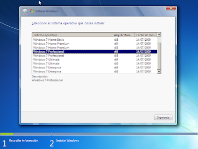 ediciones windows 7