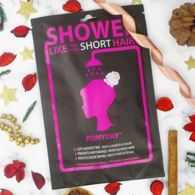 Instant Beauty Fix Products Review PonyDry Shower Hair Sleeve Lovelaughslipstick Blog