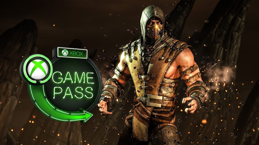 xbox game pass game awards 2018 mortal kombat x scorpion