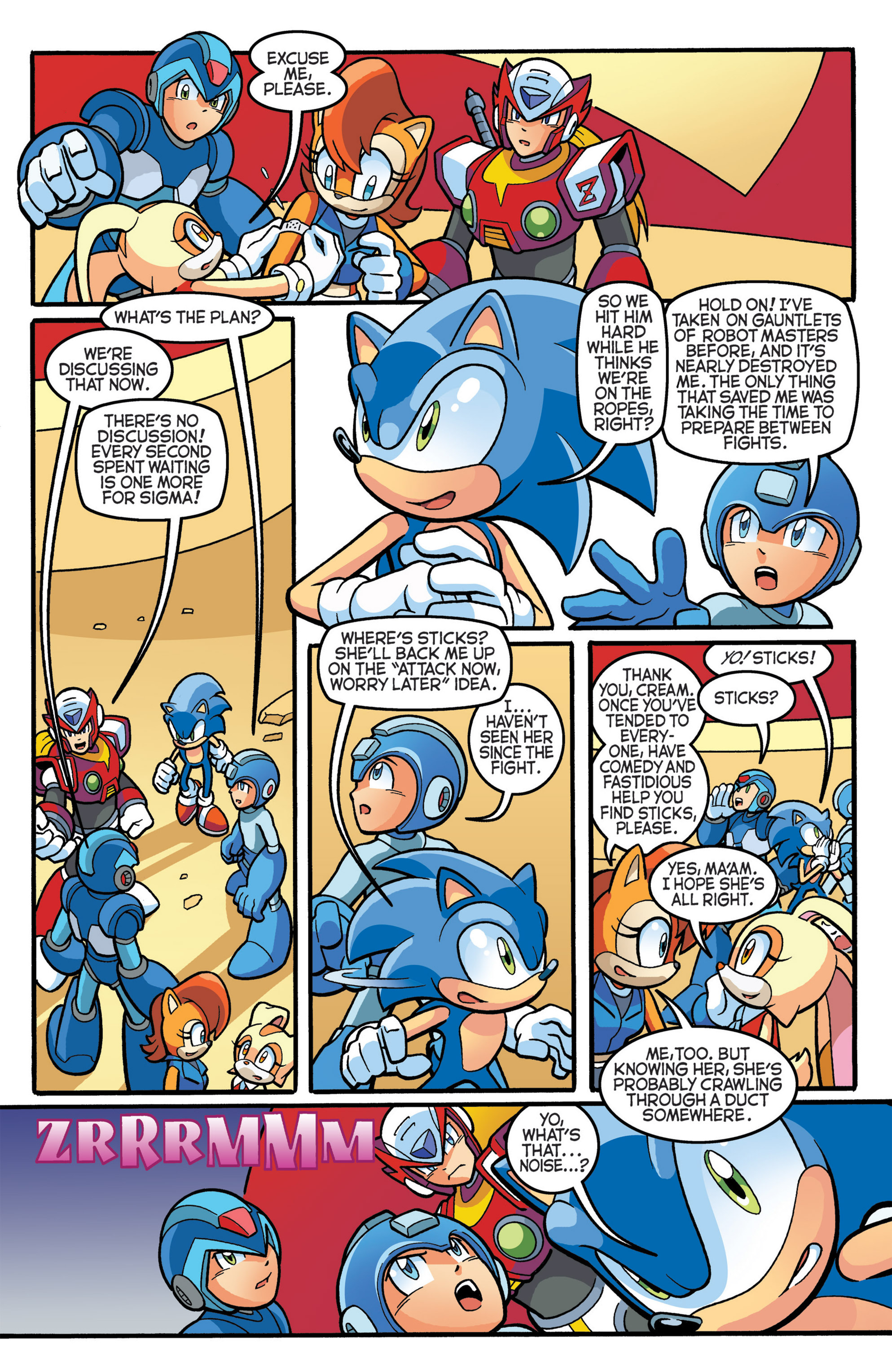 Read online Sonic The Hedgehog comic -  Issue #274 - 19