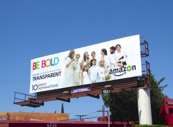 Transparent Be Bold 2016 Emmy nominations billboard