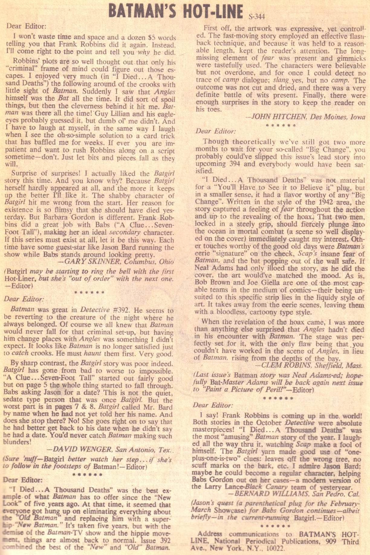 Detective Comics (1937) 396 Page 32