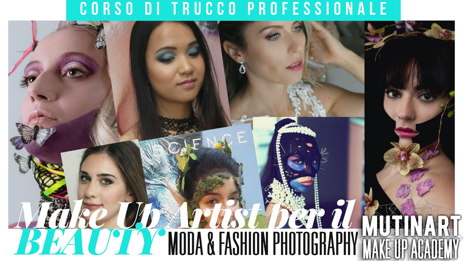 Corso di Trucco Annuale - Make Up Artist per il Beauty, la Moda e la Fashion Photography - Modena