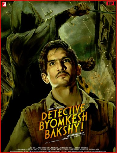 Detective Byomkesh Bakshy! (2015) full hd Hindi 480p WEB-DL 450MB