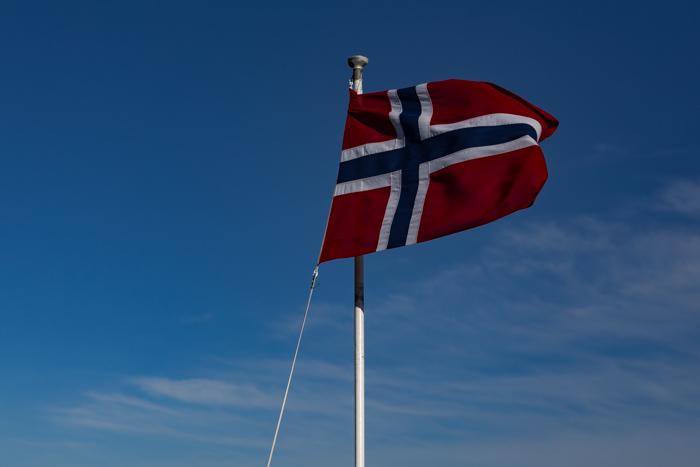 Norjan lippu värit