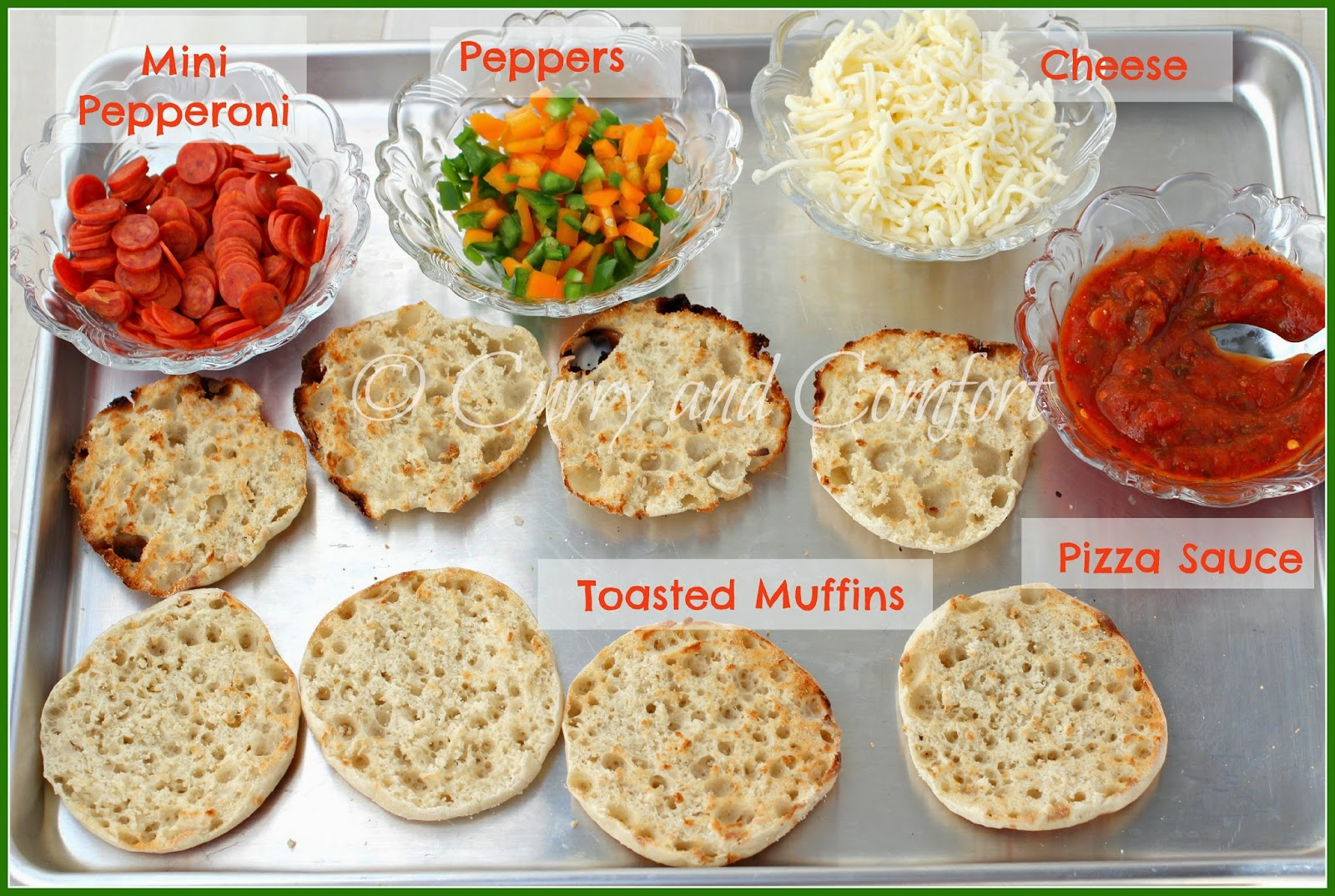 English Muffin Pizzas For Kids