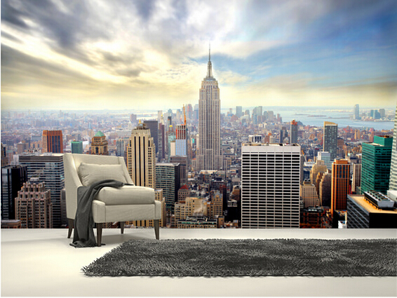 Picture Wallpaper for Walls New York Manhattan Wall Mural