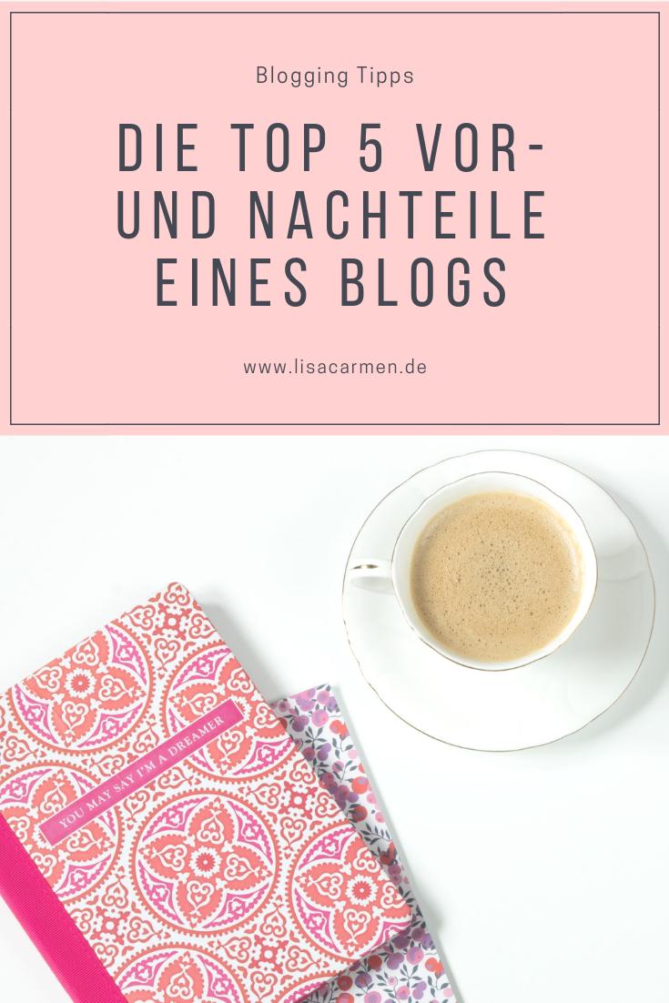 Die top 5 Vor- und Nachteile eines Blogs