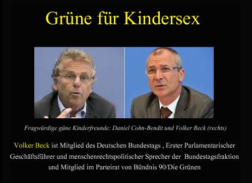 Pädophile Grüne