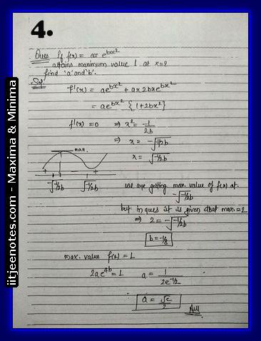 maxima and minima notes2