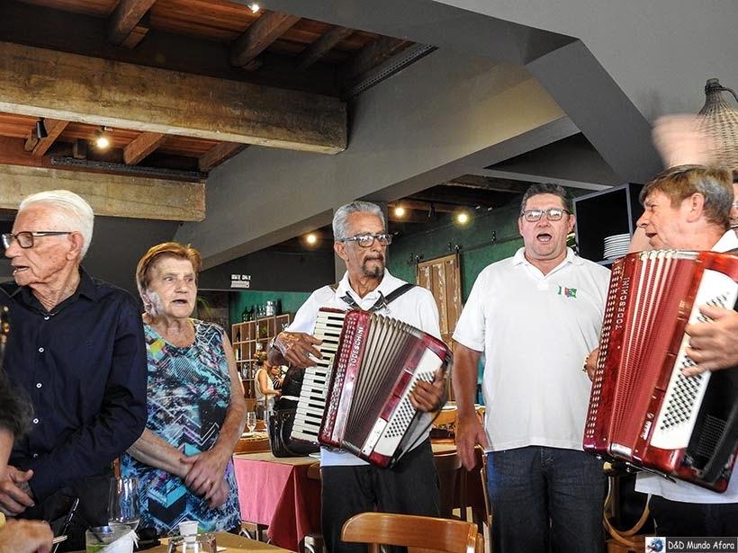 Grupo musical Eco Di Venezia - Nova Veneza - Diário de bordo - Encontro Rota Sul em Santa Catarina