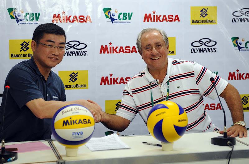 2ff151f876 Universo do Vôlei  (OUTROS) Mikasa é a nova bola oficial do voleibol ...