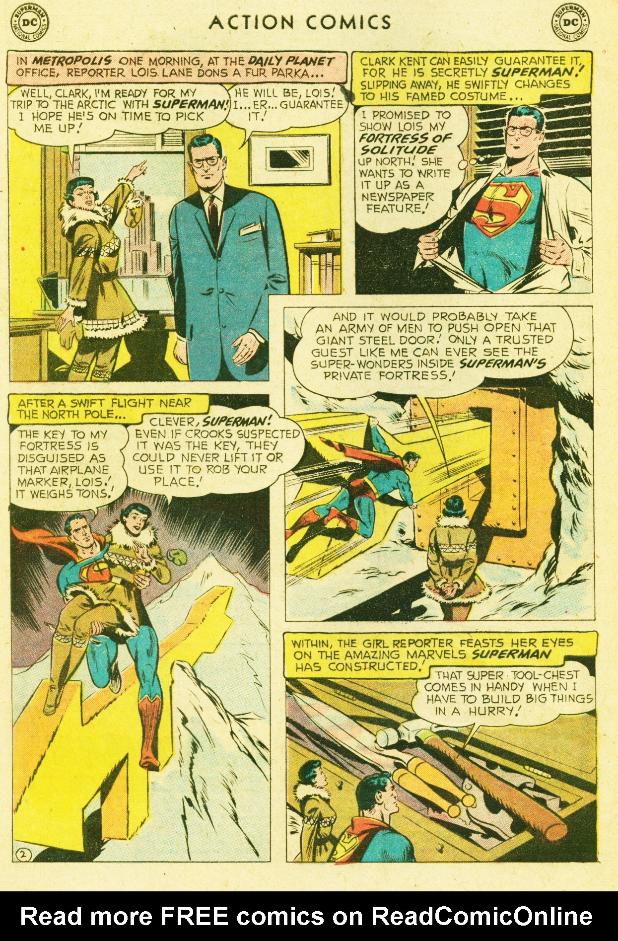Read online Action Comics (1938) comic -  Issue #245 - 4