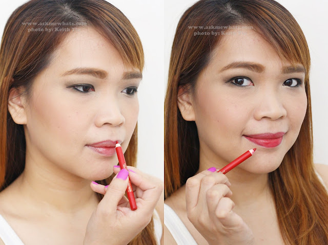 a photo of Estee Lauder Doubple Wear Stay-in-Place Lip Pencil in 07 Red