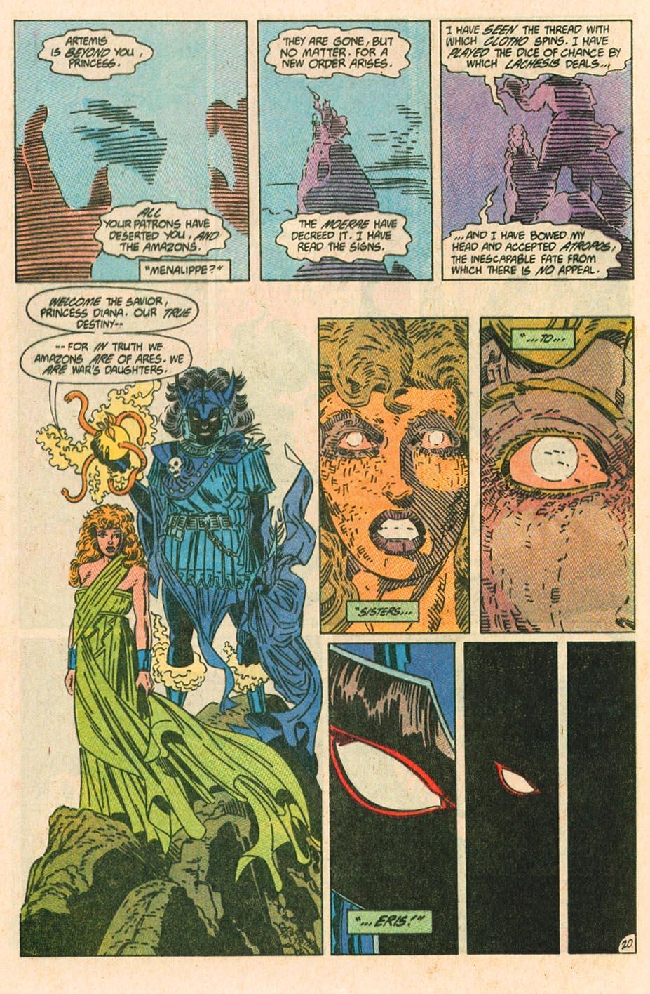Read online Wonder Woman (1987) comic -  Issue #38 - 21