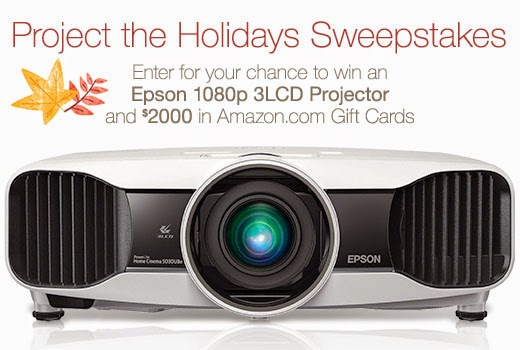 Amazon Project the Holidays Sweepstakes