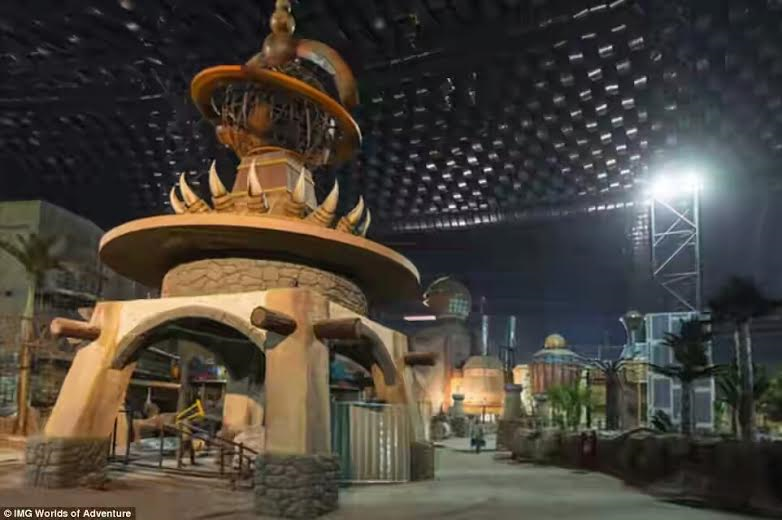 5 Photos: World's largest theme park with capacity of over 30,000 people at a time set to open in Dubai