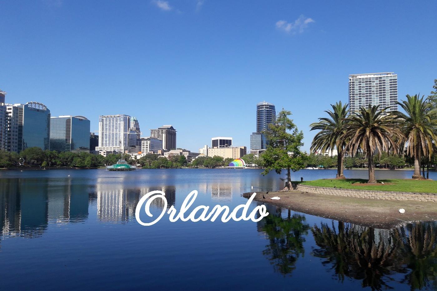 Vue sur le lac d'Orlando