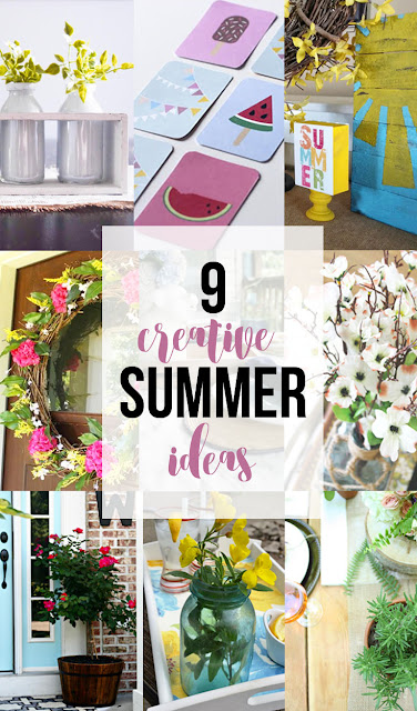 9 Creative Summer Ideas to get you excited for the summer!
