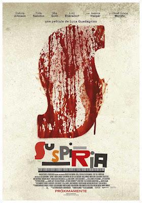 Suspiria - cartel teaser