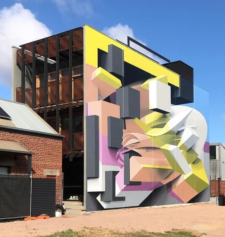 12-Port-Adelaide-Australia-PEETA-Architecture-with-Abstract-3D-Murals-www-designstack-co