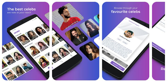 Download & Install Wysh - Personalised video messages from Celebs Mobile App