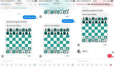 Hướng dẫn chơi cờ vua trên Facebook Messenger