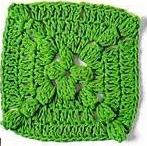 Patrón #1267: Granny a Crochet