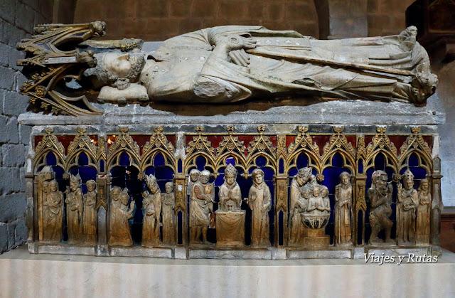 Basílica de San Felix, Sepulcro de San Narciso, Girona