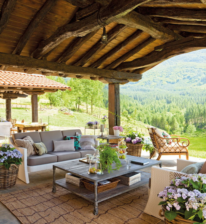 New Home Interior Design: Country Home In Spain