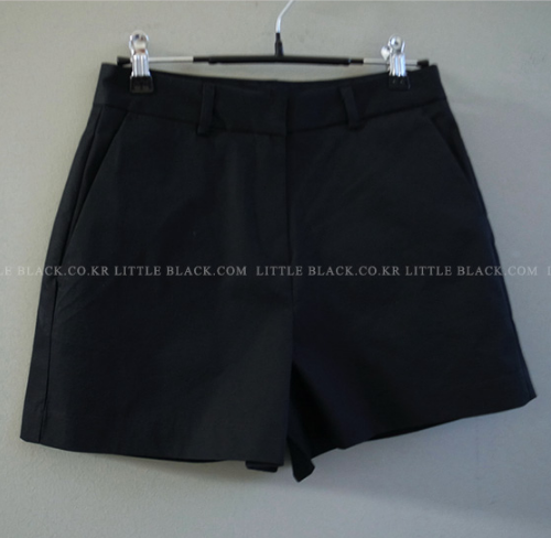 Cotton Blend Basic Shorts