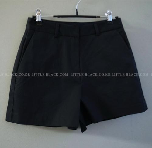 Cotton Blend Basic Shorts