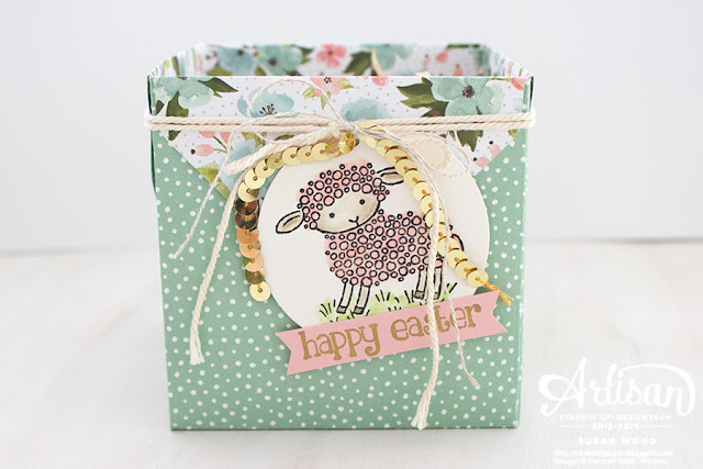 Easter Lamb Treat Box 2 ~ Susan Wong