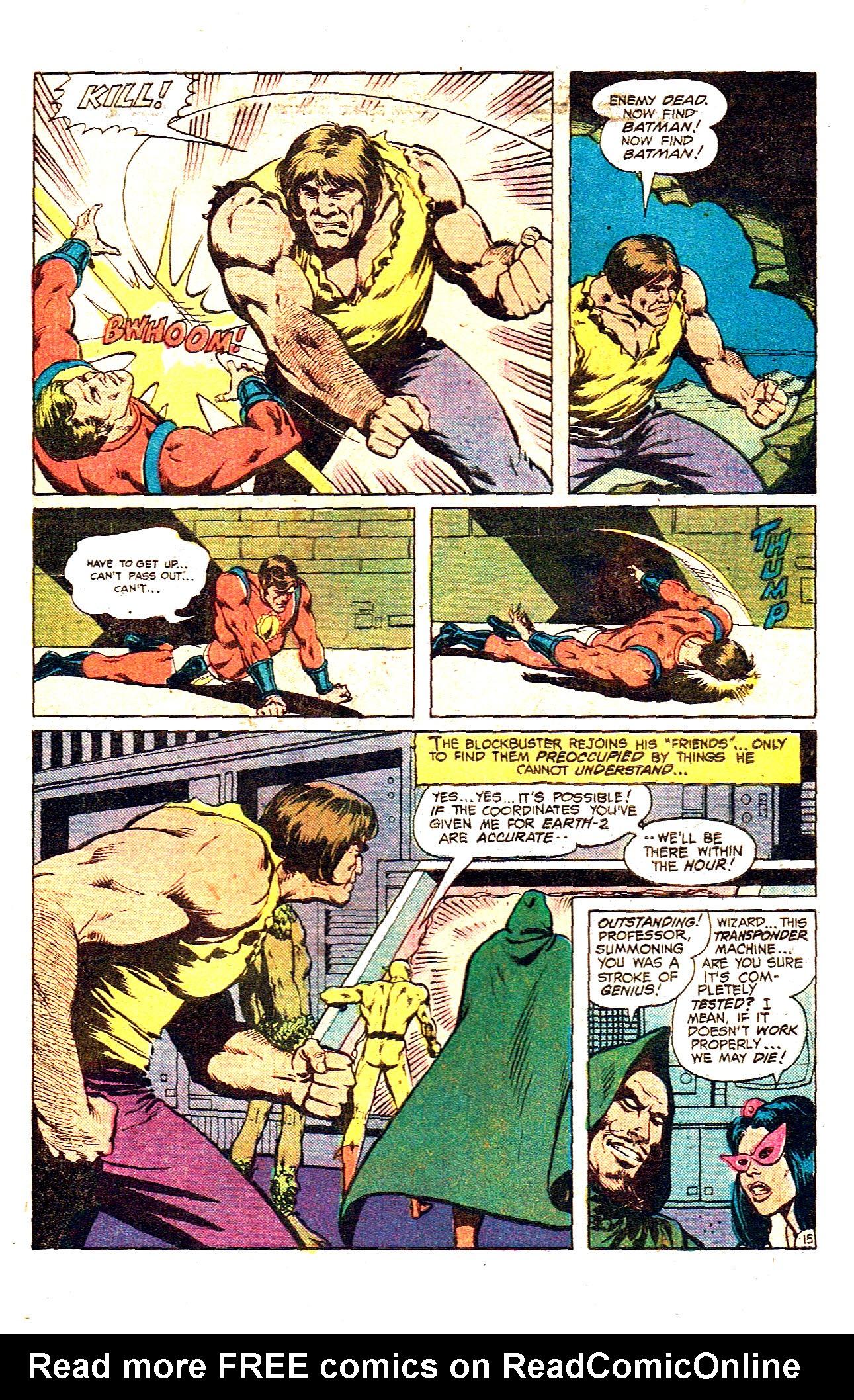 Read online Secret Society of Super-Villains comic -  Issue #12 - 27