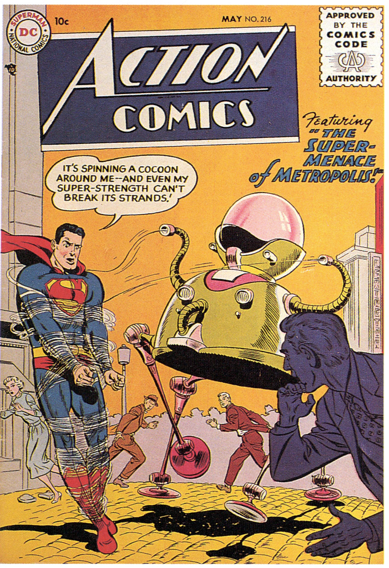 Read online Action Comics (1938) comic -  Issue #216 - 2