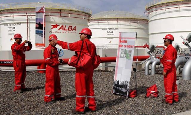 Petrolera salvadoreña Alba Petróleos aliada de Maduro para lavar dinero de Pdvsa