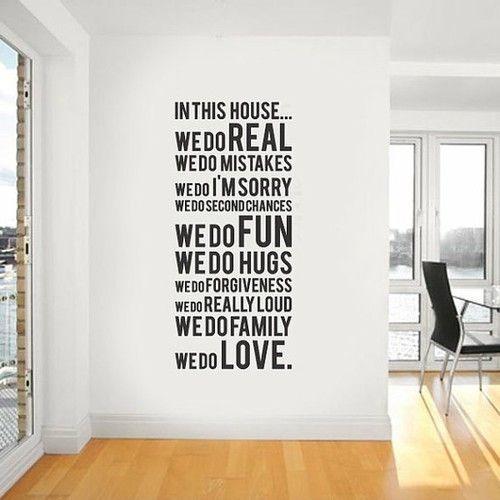 vinilo decoración letras mensajes paredes