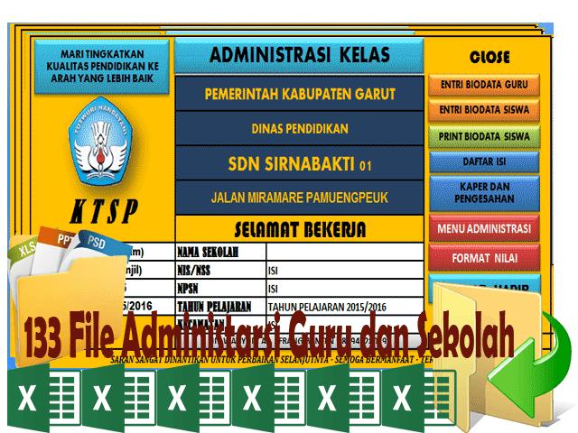 Get Sekolah Kita 133 File Administarsi Guru dan Sekolah
