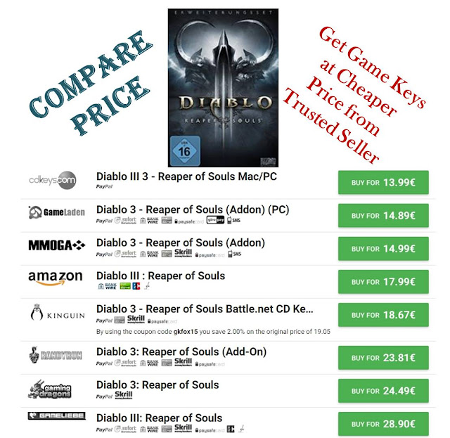 Compare CD Keys & Buy PC Game Keys