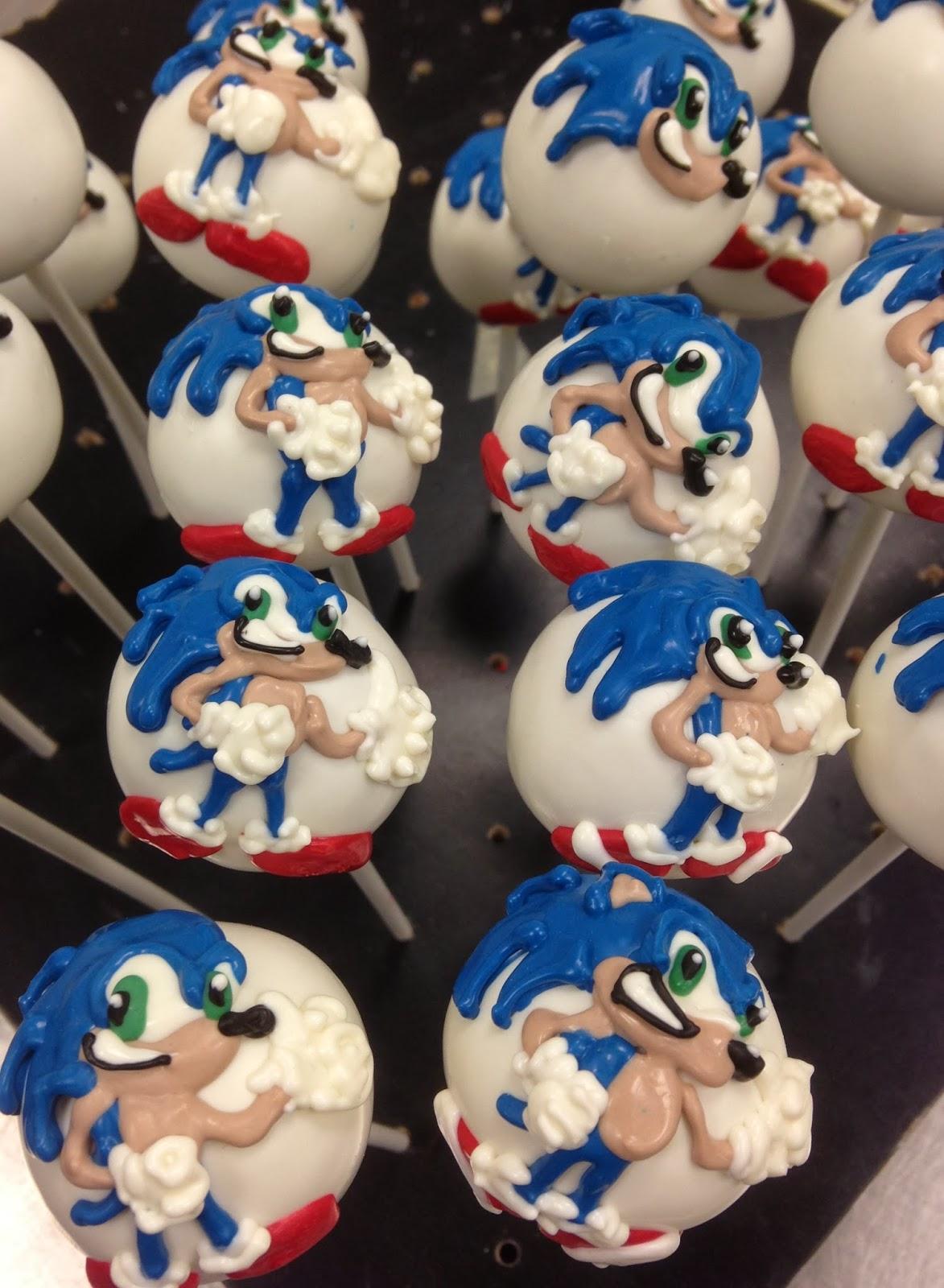 Cake Pops Online Idea Sonic The Hedgehog Cake Pops