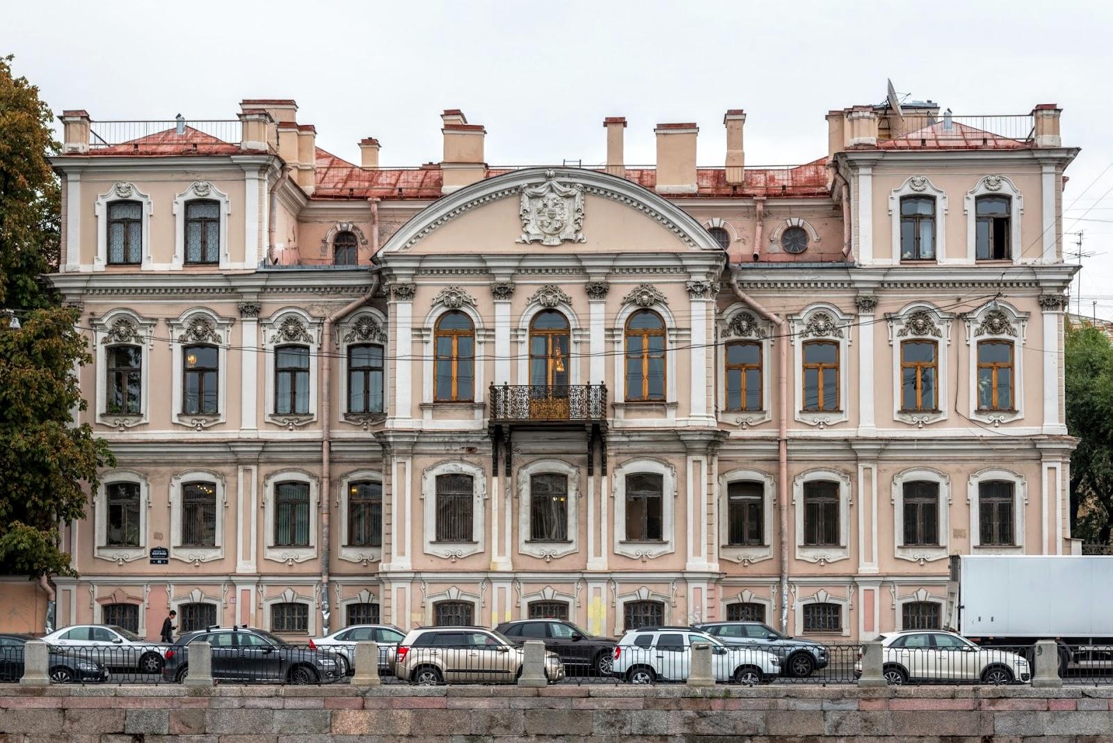 Фасады в Питере