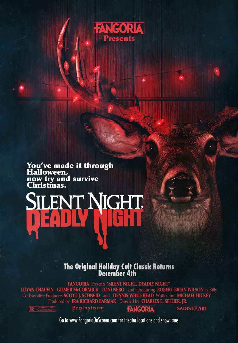 bloody pit of rod silent night deadly night 1984