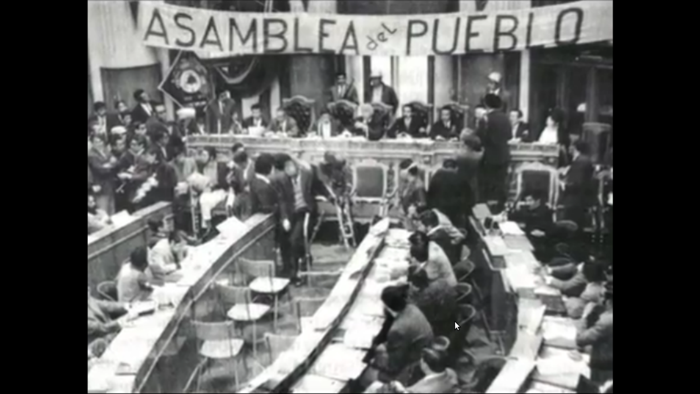 Resultado de imagen para asamblea popular de juan jose torrez