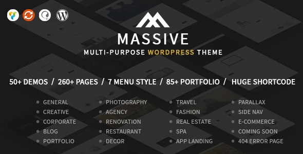 Huge WordPress Theme