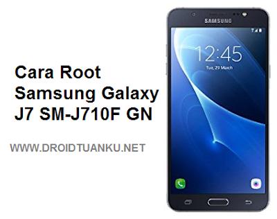 Root Samsung Galaxy J7 SM-J710F GN